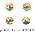 Mountains Logo Template 34703474