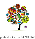 design, abstract, vector 34704862