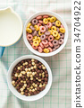 cereal nutrition rings 34704922