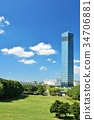 공원, 지바, 포트타워 34706881