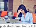 businesswoman latin workplace 34709318