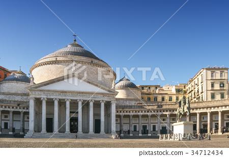 San Francesco di Paola church in Plebiscito square 34712434