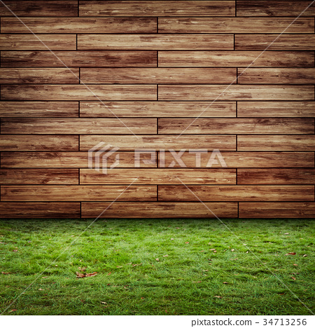 Ecology wall 3d rendering background 34713256