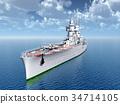 Italian heavy cruiser of World War II 34714105