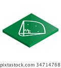icon playground baseball 34714768