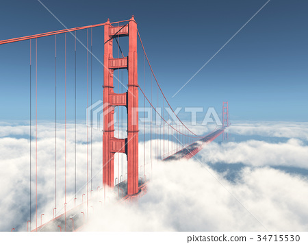 Golden Gate Bridge in San Francisco 34715530