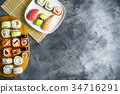 food, rice, shrimp 34716291
