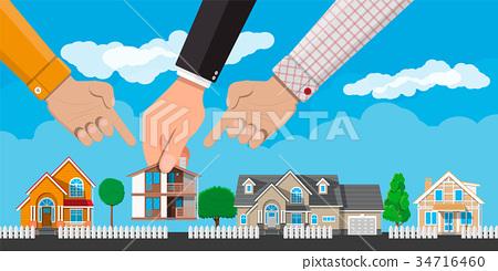 Private suburban house. Real estate 34716460