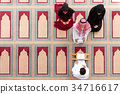 Muslim girl and the man marry by Muslim traditions 34716617