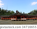 miyajima, itsukushima shrine, shrine 34716655