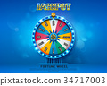 wheel fortune spin 34717003