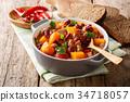 湯 燉湯 蔬菜 34718057