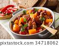 湯 燉湯 蔬菜 34718062