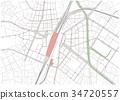 ikebukuro, map, kasuga street 34720557