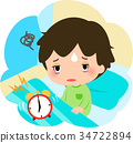 younger, alarm clock, get up 34722894