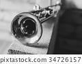 trumpet musical instrument 34726157