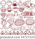 japanese box lunch, rice ball, japanese food 34727324