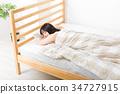 睡觉 女性 女 34727915