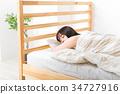 睡覺 女性 女 34727916