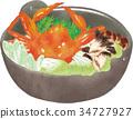 crab, hot-pot, pot 34727927