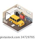 服務 汽車 車 34729765