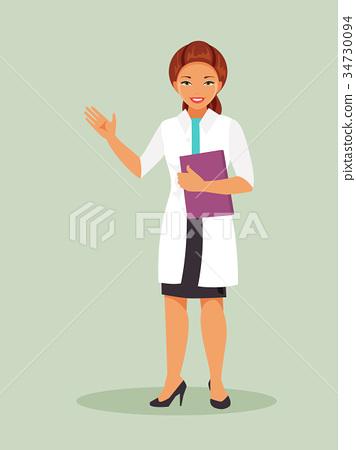 Female doctor 34730094
