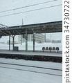 北海道車站一隅 34730722