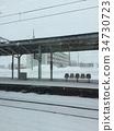 北海道车站一隅 34730723