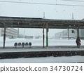 北海道车站一隅 34730724