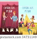 Open Air Festival Banners Set 34731149