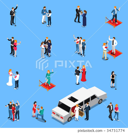 Celebrity Isometric Set 34731774