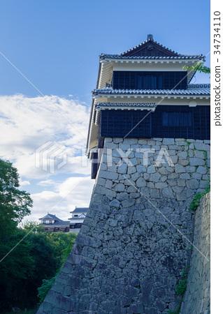 에히메 마츠야마 성의 석벽 34734110