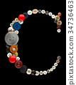 Buttons alphabet 34736463