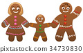 gingerbread family mother 34739830
