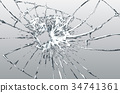Broken glass 34741361