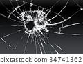 Broken glass 34741362