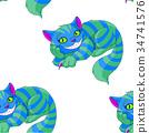 Cheshire Cat Pattern 34741576