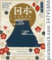 Japan tourism poster 34745866