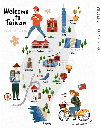 Taiwan Travel map 34745884