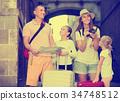 family, map, traveler 34748512
