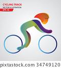 cycling, bike, vector 34749120