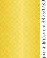 金叶 金色 背景 34750239