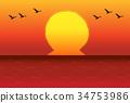 새벽, 일출, 해돋이 34753986