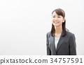 事業女性 商務女性 商界女性 34757591