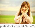 female, lady, woman 34760525