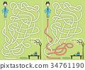 Japanese girl maze 34761190