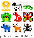pixel, art, animals 34761722