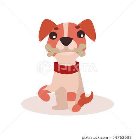 Jack russell terrier character, cute funny dog 34762082