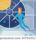 图标 空间 宇航员 34763052