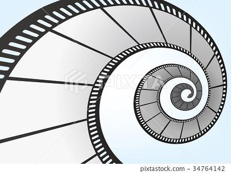 特寫電影 / 攝影 35mm 底片模板,向量3D元素 34764142